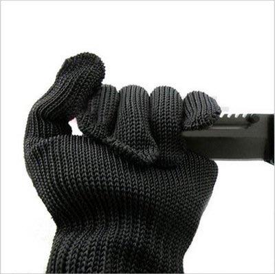 5級加強防割手套 防刃防刀刺 防切割 耐磨不銹鋼絲手套