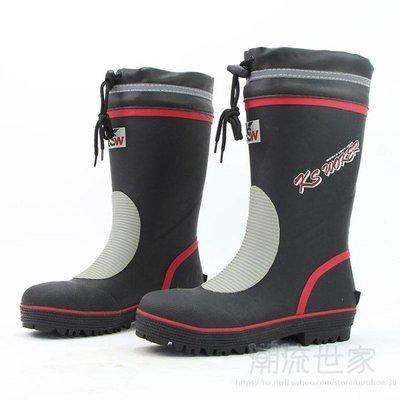 中筒鋼包頭雨鞋男士短款防砸雨靴防水防滑