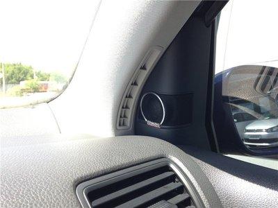 Golf 5 GTI R32 丹拿 Dyna Dynaudio A柱高音喇叭-Golf 6 Tiguan touran