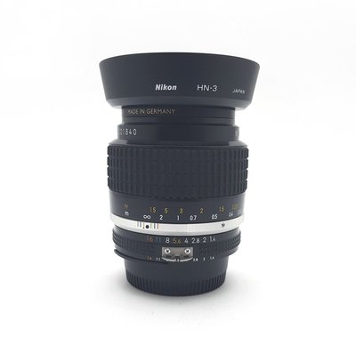 @佳鑫相機@(中古託售品)Nikon NIKKOR Ais 35mm F1.4 (含HN-3遮光罩) 經典廣角手動鏡