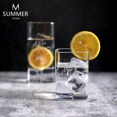 活動-北歐Ins風創意英文字母玻璃果汁玻璃水杯家用牛奶咖啡杯飲料杯#小黑板#墻面裝飾#裝飾掛鉤#