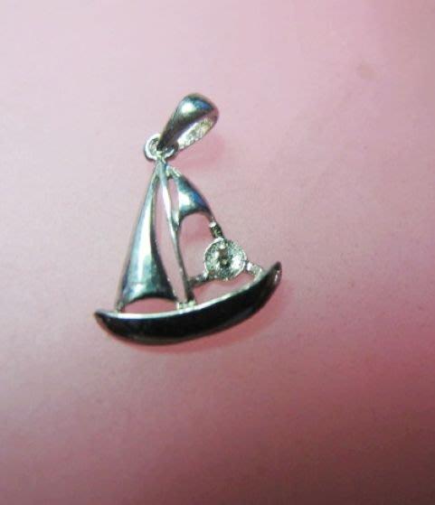 [一品軒庫存促銷品]925純銀珍珠.玉石造型.墜子台.2.0cm