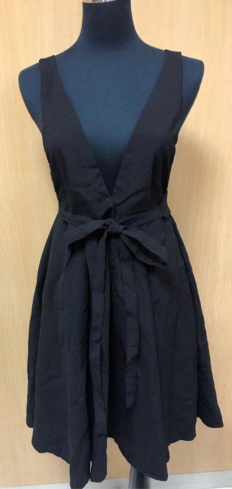 韓版打樣洋裝 附腰封 全長約91cm