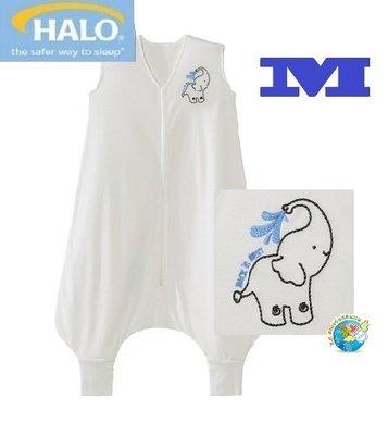 X.H. Baby【美國HALO】SleepSack Early Walker 防踢被 背心 睡袋 春夏針織 奶油大象