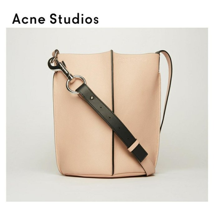 Acne Studios ►market  ( 裸粉紅色 ) 肩背包 斜背包 水桶包|100%全新正品