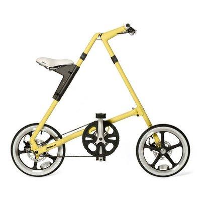 老田單車 STRiDA 速立達 16吋LT折疊單車(碟剎) 奶油色/黑色