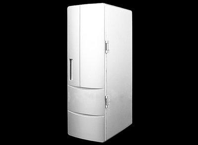 【多多百貨】60 台灣保固冷熱兩用 usb小冰箱 大號冰箱 迷你USB冰箱 保冷/保熱 冬夏季可用