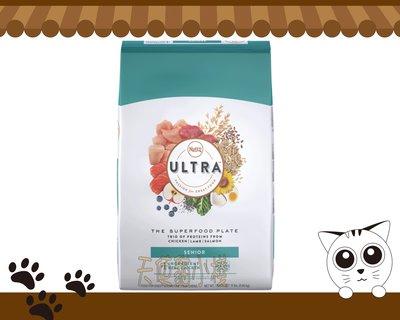 【天使貓小棧】 Nutro ULTRA 美士 大地極品 高齡犬 養生配方(雞肉+羊肉+鮭魚) 15磅 台中市