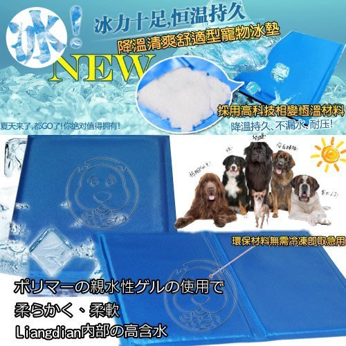 【🐱🐶培菓寵物48H出貨🐰🐹】DYY有效涼爽》寵物雙面凝膠散熱涼墊S號30*40cm 特價199元