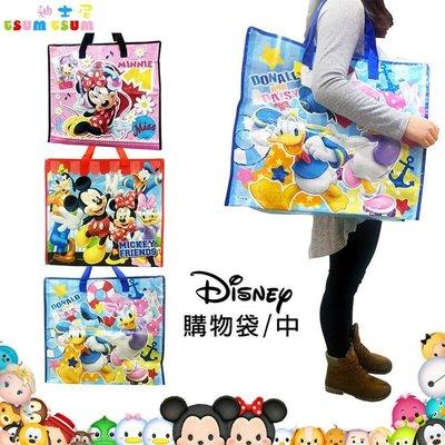 日本進口 DISNEY 迪士尼 米奇米妮唐老鴨黛西高飛 收納袋 購物袋 環保袋 袋子 三款 中 019677