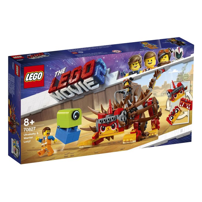 【鄭姐的店】樂高 70827 LEGO MOVIE 系列 - Ultrakatty & Warrior Lucy!