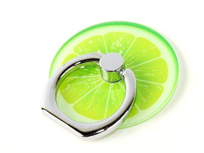 【幸福2次方】韓版創意水果懶人手機指環 粘貼式手機支架 - 多款水果可選