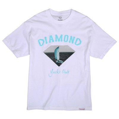 [WESTYLE] Diamond Supply Co OG Yacht Club Tee 白 短T