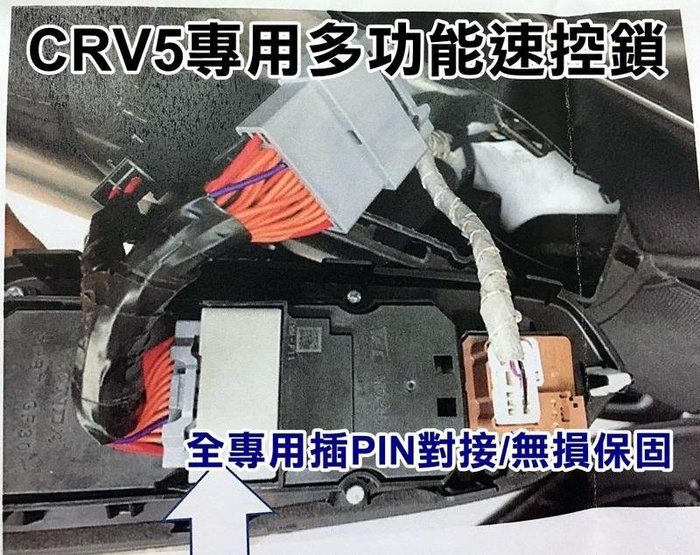 大新竹【阿勇的店】HONDA 本田 CRV5代 CR-V 專用多功能速控鎖 速控+收折+升降窗 全專用PIN對接,免接線