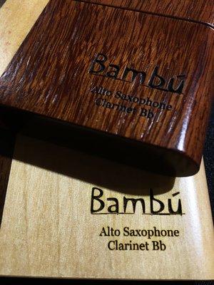 §唐川音樂§【Bambu 竹片原木保存盒 次中音 8片裝】(阿根廷)