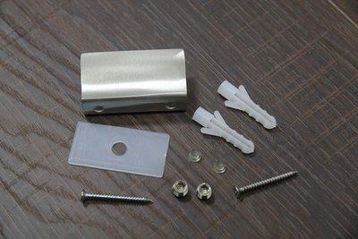 (大型) 不鏽鋼 玻璃夾具 不銹鋼 玻璃平台 固定夾 層板夾 砂光 2入