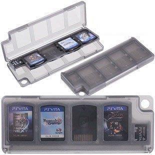 PSV VITA 1000 2000 psv2000 psv1000 可放8隻game+2張記憶卡 10合1卡盒 遊戲盒帶 收藏盒