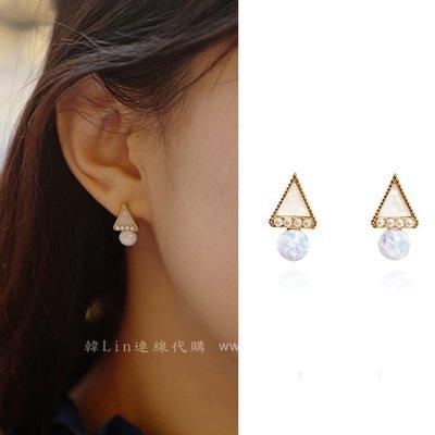 【韓Lin代購】韓國 GET ME BLIN - 明星同款白色冰淇淋耳環 ICE CREAM