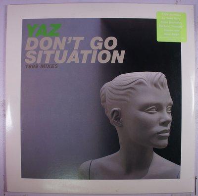 《二手美版黑膠》Yaz - Don't Go / Situation (1999 Mixes) (2LP)