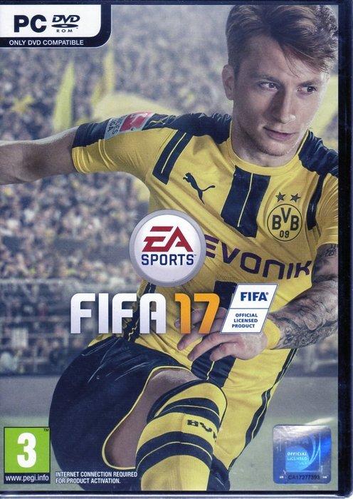 現貨中 PC遊戲 國際足盟大賽 17 FIFA 17 英文版 【板橋魔力】