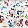 ✿小布物曲✿童話系列-3大野狼與小紅帽(厚) 窄幅110CM 日本進口100%純棉布料 共3色 單價/尺