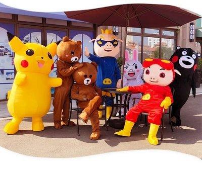 人偶服裝人偶服裝夏季裝備男女節日行走冰背心動物玩偶服商場網紅熊舞蹈服悠悠