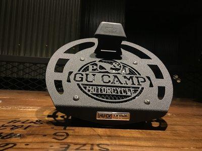 周年慶77折 GUCAMP x HU+CK 浩克 聯名限量版本 安全帽架【插電款風扇鋼鐵安全帽帽架】安全帽收納架 帽架