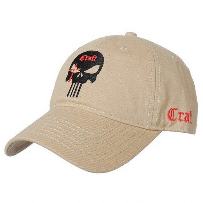 FIND 韓國品牌棒球帽 男女情侶 時尚街頭潮流 骷髏頭國旗刺繡 帽子 太陽帽 鴨舌帽 棒球帽