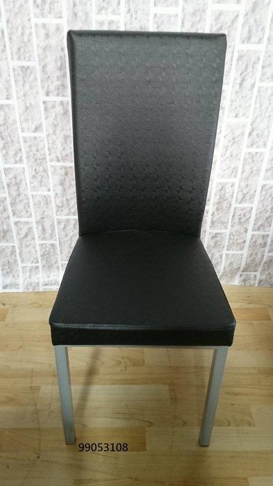 【弘旺二手家具生活館】全新/庫存 華麗黑色皮餐椅 胡桃布餐椅 鐵腳布餐椅 床尾凳 腳椅-各式新舊/二手家具 生活家電買賣