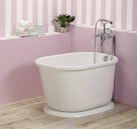 《101衛浴精品》台灣製 高亮度 壓克力 獨立浴缸 105 / 110 / 118CM 泡澡缸 古典浴缸【免運費搬上樓】