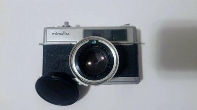 美能達 Minolta Hi-matic 7 底片機 光電池 RF 測距連動 疊影對焦 作動良品 東洋七劍 古董相機