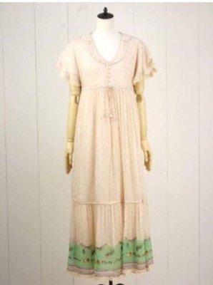 ❤️一口價$650 Franche Lippee 全新 動物刺繡 連身長裙