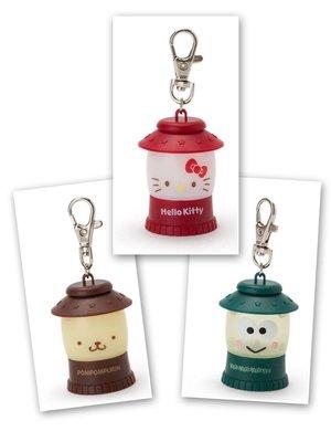現貨 日本 三麗鷗 Hello Kitty  布丁狗 大眼蛙 LED 吊燈 造型吊飾 鑰匙圈