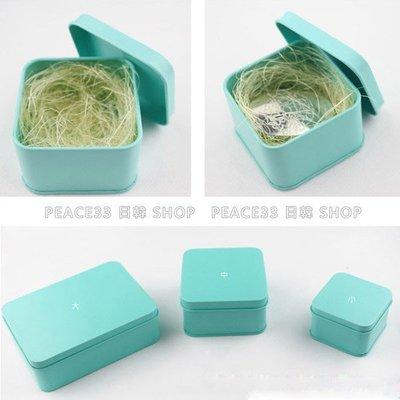 【PEACE33】原創生活小物。TIFFANY藍綠 蝴蝶結鐵盒子 首飾盒/飾品盒/馬鐵盒/禮物盒/收納盒。現貨