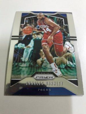 #1【CHARLES BARKLEY】2019-20 NBA PRIZM 76人隊 巴克利 金屬卡 高雄市
