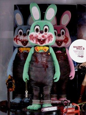 ArtLife @ GECCO Silent Hill 3 限定 Rabbit 沉默之丘 綠色 血腥殺人兔 撲殺兔