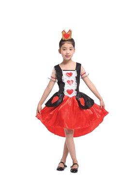 萬聖節服飾,萬聖節裝扮,聖誕舞會,變裝派對,兒童變裝服-公主服-美麗桃心公主