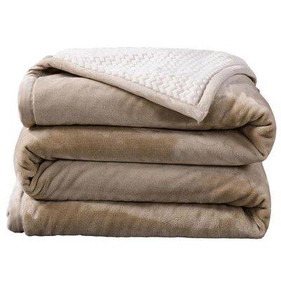 120*200公分夏季薄毛毯被子加厚珊瑚絨毯子毛巾被蓋毯法蘭絨