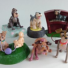 McDonalds 麥當勞2001 ~ Disney 迪士尼 Lady and the Tramp小姐與流氓~ 6款