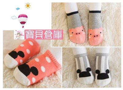 寶貝倉庫~嬰兒動物地板襪~幼兒純棉地板...