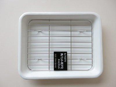 發現花園 日本選物 ~日本製 野田琺瑯 調理盤/長方盤 (可進烤箱)- 其比內 cabinet