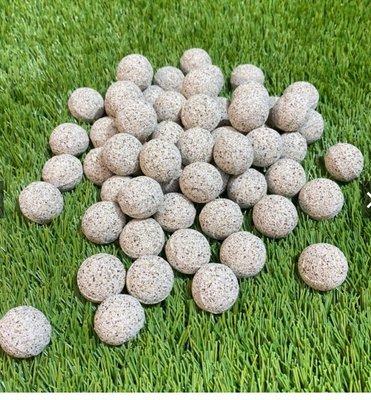 [水族最便宜]培菌球 過濾球 秒吸水超強圓球多孔濾材 大顆粒27mm-500g