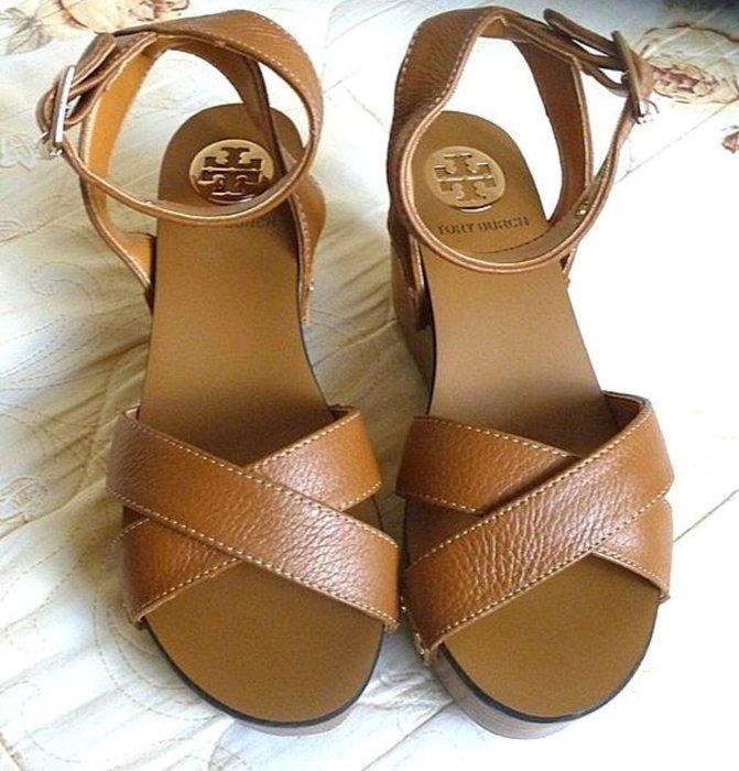 TORY BURCH ~厚底 / 楔型鞋 / 涼鞋 (37號)