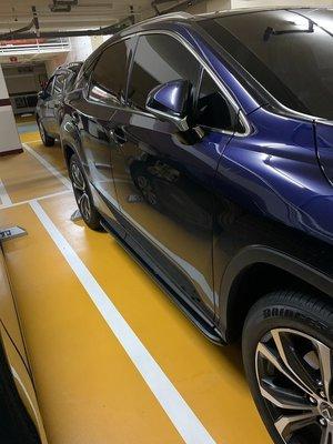 (柚子車舖) LEXUS 2015-2020 RX 專用側踏板 -可到府安裝 台灣製造 b