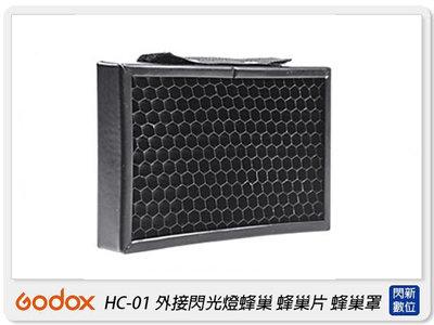 ☆閃新☆GODOX 神牛 HC-01 外接閃光燈蜂巢 蜂巢片 蜂巢罩 蜂巢(HC01,公司貨)