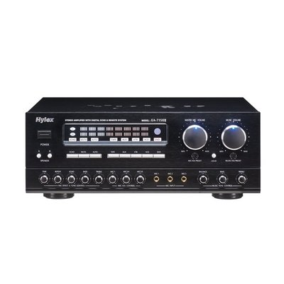 EA-7150ⅡB Hylex 數位式迴音AV混音擴大機/最大輸出功率250W/一年保固/台灣製造/附發票