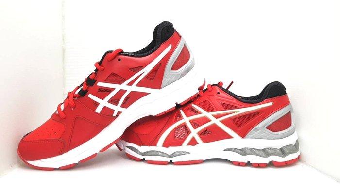 綠色大地 ASICS BRIGHTLINE CS 教練鞋 SFT256-600 紅白色 訓練鞋 高爾夫球鞋