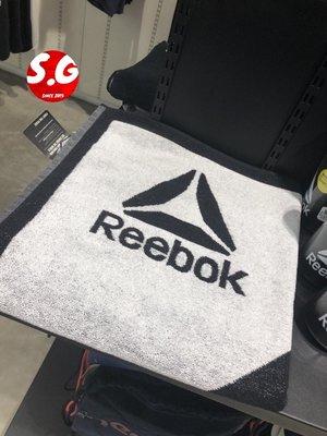 S.G REEBOK UFC TOWEL 黑白 運動毛巾 浴巾 毛巾 健身房 CE4131