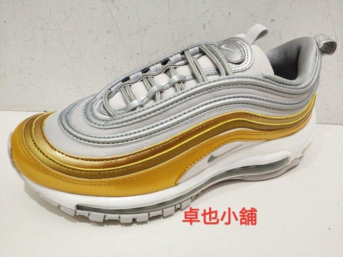 卓也小舖@NIKE休閒鞋 女生款 金色子彈鞋 潮流 全新 台灣公司貨 現貨 AQ4137-001 超低價 正品 免運