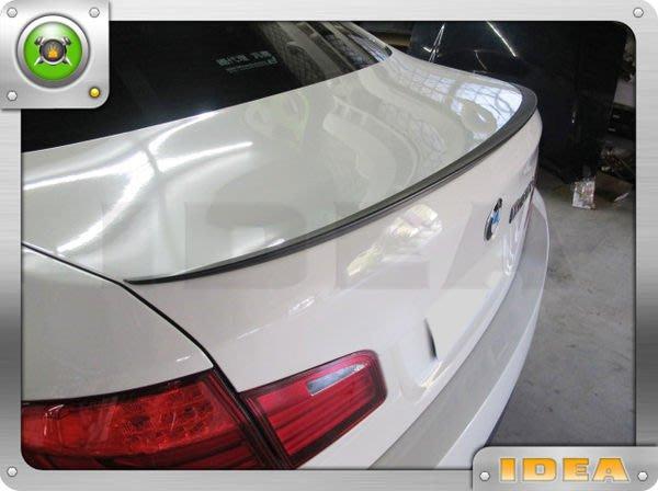 泰山美研社285 BMW 新大五 F10 M5 樣式消光黑尾翼 實車完工照520D 520I 523I 528I 535D